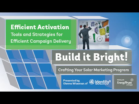 Efficient Activation Marketing Solar Webinar