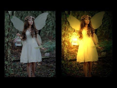 Да будет свет! Эффекты освещения в фотошоп: 3 способа создать свет