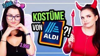Karnevalskostüme von ALDI?! 🤔wir testen günstige Kostüme für Fasching/Karneval! - unlikely