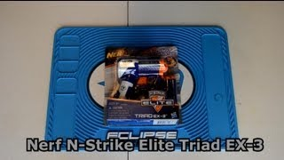 ~Unboxing~ New Nerf N-Strike Elite Triad EX-3 Unboxing Video ~Unboxing~ thumbnail