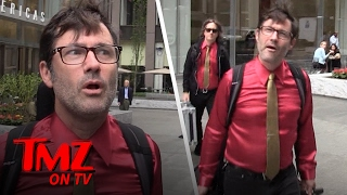 Lagwagon Frontman Joey Cape Tells Us About A Time He Passed Out In A Trash Compactor | TMZ TV