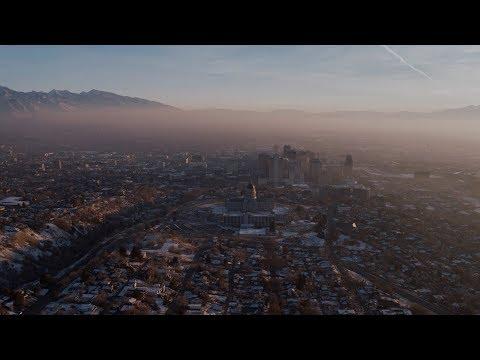 Winter Inversion in Salt Lake City, Utah