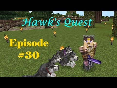 Hawk's Quest Episode #30 - My First Venture into the Nether!