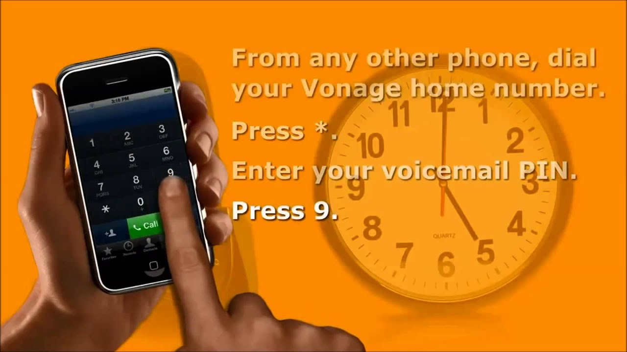 Vonage How To Set Up Your Voicemail Greetings Youtube