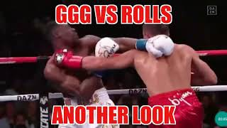 "GGG VS ROLLS ""DID I GET IT WRONG""GGG LOOKING OLD?????"