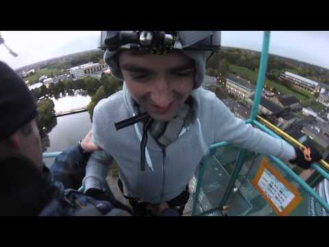 University of York James College Bungee Jump Teaser