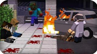 Зомби апокалипсис! Начало конца!? Побег от зомби в Minecraft / Майнкрафт