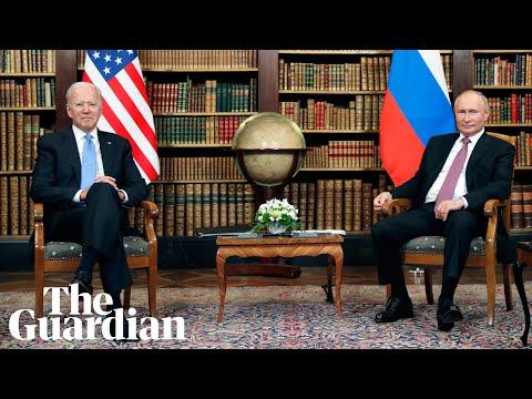 Joe Biden meets Vladimir Putin face-to-face at crunch summit