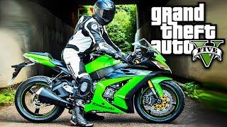 GTA V Moto Kawasaki Ninja 2015