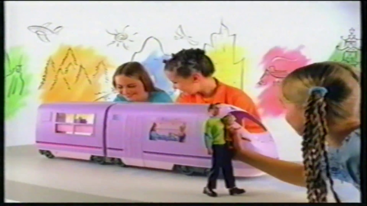 Barbie Travel Train Electronic Toy Tv Commercial Youtube