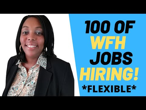 Lots Of Work From Home Companies| Online Jobs Hiring Right Now