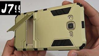 Samsung Galaxy J700 Shockproof Hybrid Case
