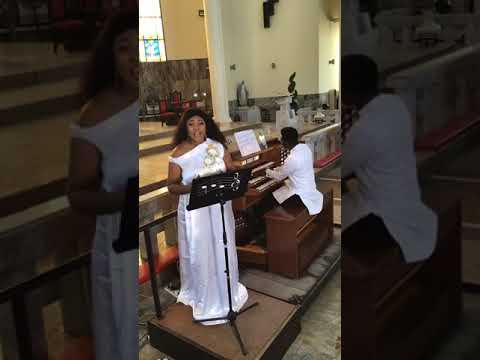 Download Angela Izegbu sings Anyia rio gi. Igbo song by Nigerian composer Fr. Chinedu Obieli.