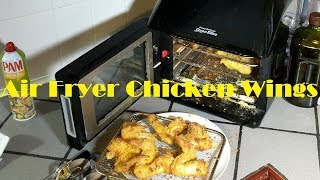 Air Fried Chicken Wings, Power Air Fryer Oven Elite Recipe