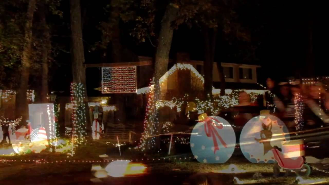 2010 Houston Prestonwood Forest House Lighting Contest - YouTube