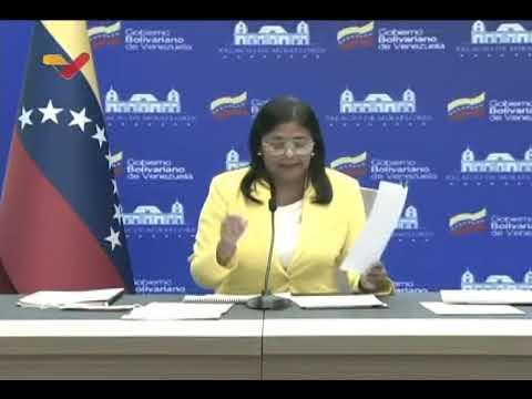 Sanciones contra Venezuela: Informe que Delcy Rodríguez entregó a la Corte Penal Internacional