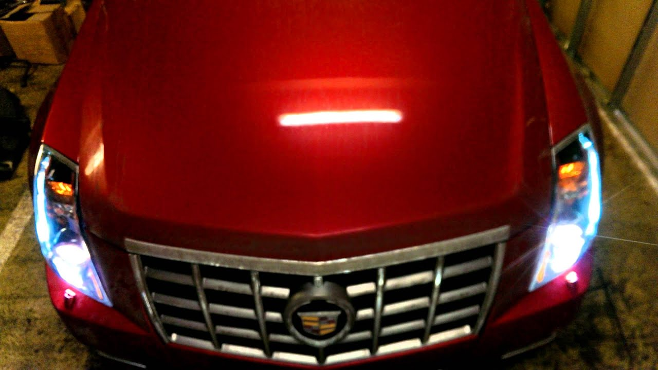 Cadillac CTS ремонт фар ч5 итог подвожу черту