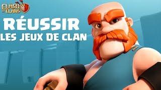 COMMENT BIEN RÉUSSIR SES JEUX DE CLAN   Clash of clans