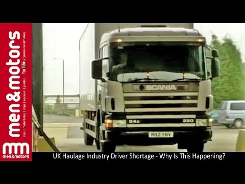 UK Haulage Industry Driver Shortage - Why Is This Happening?