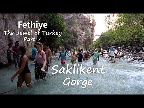 Fethiye The Jewel of Turkey Part 7 Saklikent Gorge