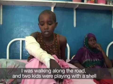 ICRC delegate reports from Keysaney Hospital in Mogadishu