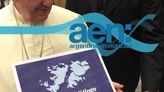 Malvinas: El Papa sumó su respaldo - AEN 20-08 18HS.