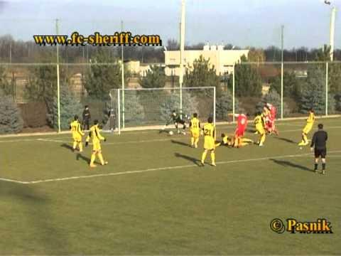 Голы матча   Шериф-2 _3 : 1_    Лилкора, 28.11.2011