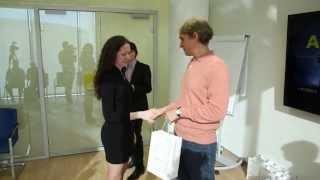 Победители интернет-турнира в гостях у Тинькофф Банка