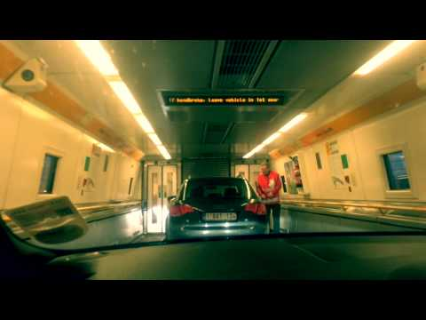 Travelling through Eurotunnel