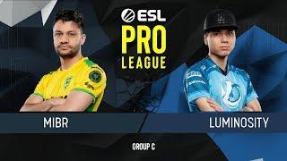 CS:GO - MIBR vs. Luminosity [Train] Map 2 - Group C - ESL Pro League Season 9 Americas