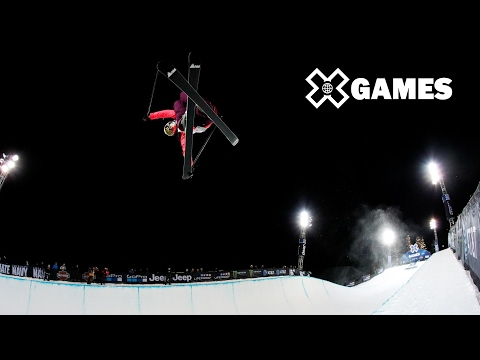 FULL REPLAY: Women's Ski SuperPipe Final at X Games Aspen 2017