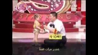 أصغر بنت ترقص شرقى فى العالم .. تحفه