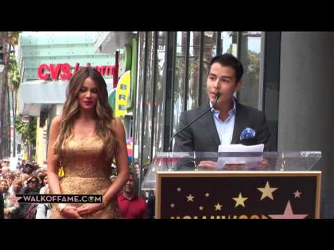 Sofia Vergara recibe estrella en Walk of Fame