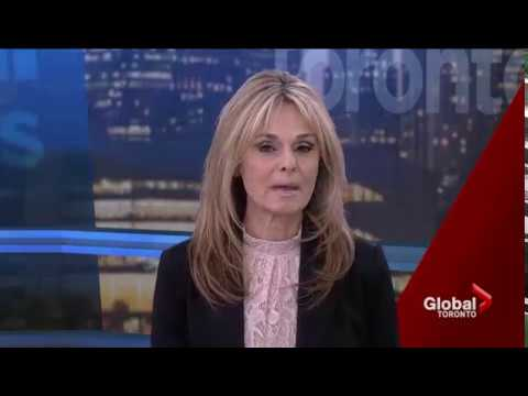 Global News (Making a Difference) visit Wayne's cup