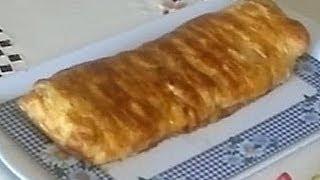 Мясной штрудель - мясной пирог