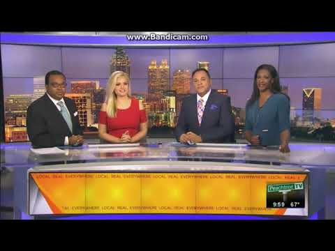 WPCH: CBS 46 News At 9pm on Peachtree TV Close--11/18/17