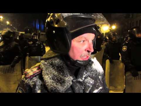 Interview with Col  MVD of Ukraine  Maidan Berkut
