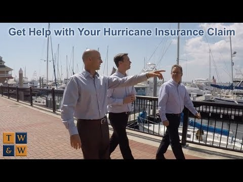 Get Help with Your Hurricane Insurance Claim