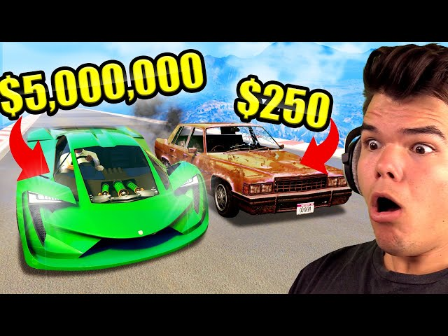 CHEAPEST vs. Most EXPENSIVE Car In GTA 5!