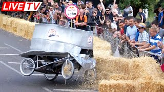 We Crashed badly in the Redbull Soapbox London
