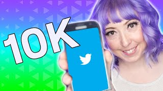 How I Grew My Twitter To 10K Followers FAST