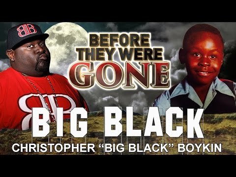 BIG BLACK  Before They Were GONE  MTV's Rob & Big