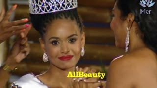 Miss World Jamaica 2015 Crowning Moment
