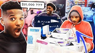 ANYTHING You Can CARRY I'll Buy Challenge! *it didn't end well* 😰