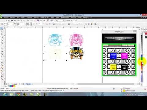 Como hacer separaci n de colores en corel draw x6 youtube - Como hacer colores ...