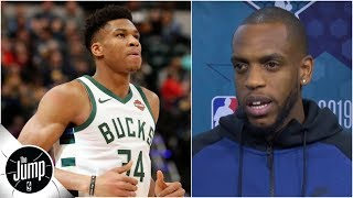 Khris Middleton hints at future w/Bucks: 'Why give up on something that's been working?' | The Jump