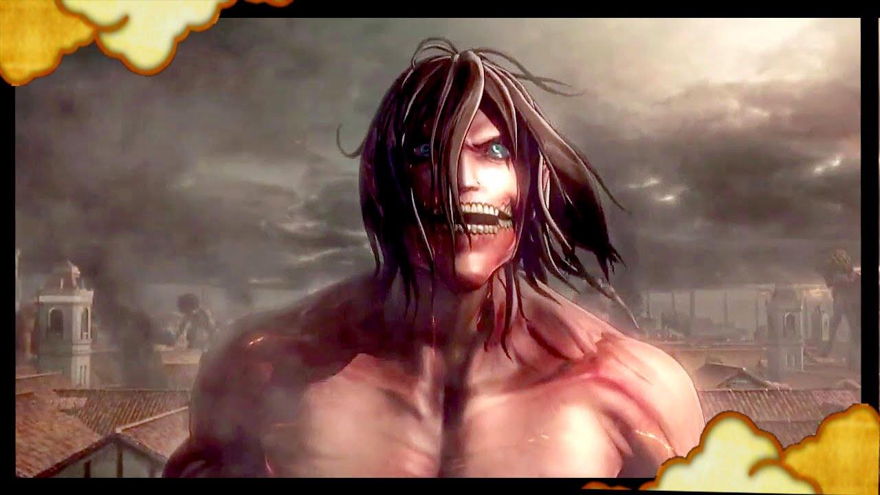 Attack on Titan Ps4 - Eren Yeager Titan Form Gameplay Cutscene ...