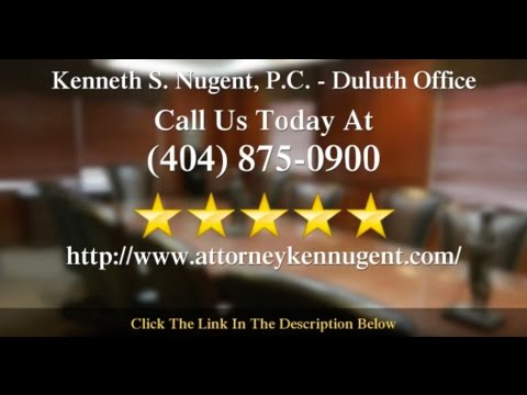Reviews For Attorney Ken Nugent In Duluth GA