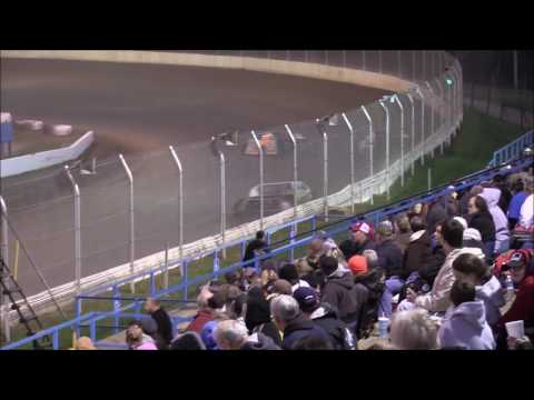 American Modified Series Heat #3 from Florence Speedway, October 22nd, 2016.
