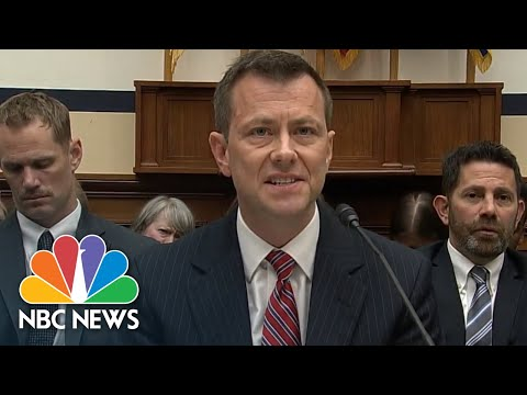 Peter Strzok On Anti-Trump Texts: 'I Do Not Have Bias' | NBC News